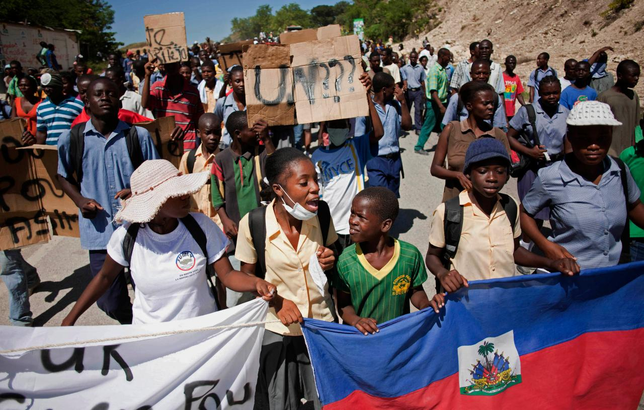 racism in haiti Why the world doesn't seem to give a damn about haiti but political correctness balanced overt racism out with racism that's more obscure with no agenda.
